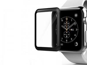 محافظ صفحه نمایش تمام چسب ترتل مدل TB-IWA44-BK 3D Glass مناسب برای ساعت هوشمند اپل واچ 44mm