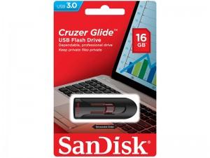 فلش مموری سن دیسک مدل Cruzer Glide USB 3.0 ظرفیت 16 گیگابایت