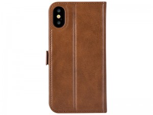 کیف چرمی دیویا مدل Magic 2 in 1 Leather Case C0411 مناسب برای گوشی موبایل آیفون X