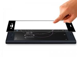 محافظ صفحه نمايش تمام چسب مدل Full Cover 5D Glass مناسب برای گوشی موبايل سونی XZ1