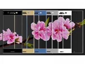 محافظ صفحه نمايش تمام چسب مدل Full Cover مناسب برای گوشی موبايل سونی XZ Premium