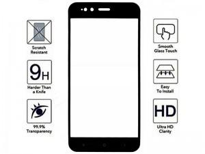 محافظ صفحه نمايش تمام چسب مدل Full Cover مناسب برای گوشی موبايل شیائومی Mi 5X