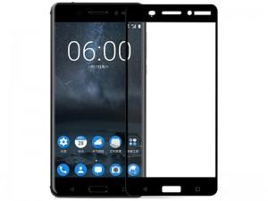 محافظ صفحه نمايش تمام چسب مدل 3D Glass مناسب برای گوشی نوکیا 5