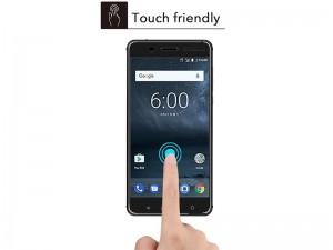 محافظ صفحه نمايش تمام چسب مدل 3D Glass مناسب برای گوشی نوکیا 6