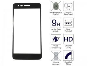 محافظ صفحه نمايش تمام چسب مناسب برای گوشی موبايل ال جی K8 2017