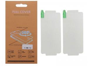 برچسب نانو صفحه نمايش جلو و پشت گوشی مدل Full Cover مناسب برای گوشی ال جی K8 2017