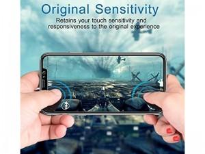 محافظ صفحه نمايش تمام چسب مدل Full Cover 5D Glass مناسب برای گوشی موبايل ال جی V30
