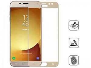 محافظ صفحه نمايش تمام چسب کوکوک مدل 4D Rounded Edges مناسب برای گوشی موبايل سامسونگ J5 Pro