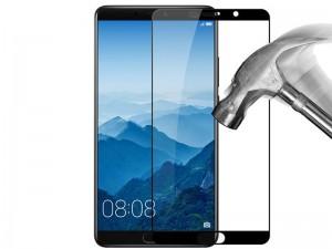 محافظ صفحه نمايش تمام چسب کوکوک مدل 4D Rounded Edges مناسب برای گوشی موبايل هوآوی Mate 10