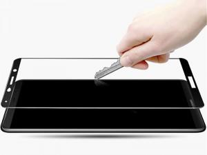 محافظ صفحه نمايش تمام چسب کوکوک مدل 4D Rounded Edges مناسب برای گوشی موبايل هوآوی Mate 10 Pro