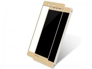 محافظ صفحه نمايش تمام چسب مدل Full Cover مناسب برای گوشی موبايل هوآوی P10