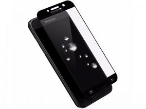 محافظ صفحه نمايش تمام چسب کوکوک مدل 4D Rounded Edges مناسب برای گوشی موبايل سامسونگ A7 2017