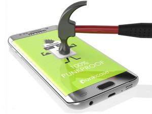 محافظ صفحه نمايش تمام چسب مناسب برای گوشی موبايل سامسونگ S7