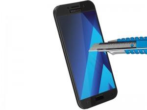 محافظ صفحه نمايش تمام چسب کوکوک مدل 4D Rounded Edges مناسب برای گوشی موبايل سامسونگ A5 2017