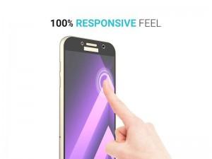 محافظ صفحه نمايش تمام چسب مناسب برای گوشی موبايل سامسونگ A5 2017