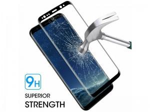 محافظ صفحه نمايش تمام چسب ایکس او مدل Tempered Glass مناسب برای گوشی موبايل سامسونگ S9 Plus