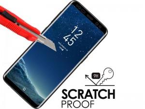 محافظ صفحه نمايش تمام چسب کوکوک مدل 4D Rounded Edges مناسب برای گوشی موبايل سامسونگ S8
