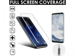 برچسب نانو محافظ صفحه نمايش مدل Nano Anti Shock Film Screen Protector مناسب برای گوشی موبایل سامسونگ S8