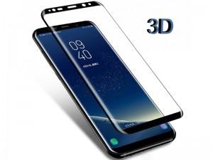 محافظ صفحه نمايش تمام چسب کوکوک مدل 4D Rounded Edges مناسب برای گوشی موبايل سامسونگ S8 Plus