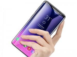 محافظ صفحه نمايش تمام چسب بیسوس مدل Tempered Glass Film مناسب برای گوشی موبايل سامسونگ S9 Plus