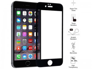 محافظ صفحه نمايش تمام چسب مناسب برای گوشی موبايل آیفون 6