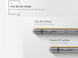 محافظ صفحه نمایش تمام چسب هوکو مدل 3D مناسب برای گوشی موبایل آیفون 6