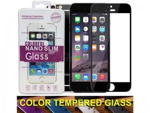 محافظ صفحه نمايش جلو و پشت گوشی مدل Colorful Glass مناسب برای گوشی موبایل آیفون 7/8
