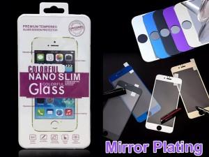 محافظ صفحه نمايش جلو و پشت گوشی مدل Colorful Glass مناسب برای گوشی موبایل آیفون 6 پلاس