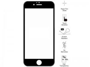 محافظ صفحه نمايش تمام چسب مناسب برای گوشی موبايل آیفون 6 پلاس