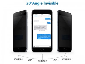محافظ صفحه نمايش کوکوک مدل Matte and Privacy مناسب برای گوشی موبايل آیفون 6 پلاس