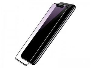 محافظ صفحه نمايش بیسوس مدل Silk Screen 3D Arc Anti-Blue light مناسب برای گوشی موبایل آیفون X