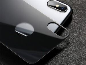 محافظ صفحه نمايش پشت و رو بیسوس مدل Glass Film Set Front + Back Film مناسب برای گوشی موبایل آیفون X