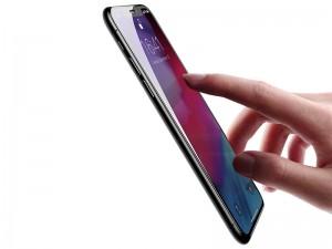 محافظ صفحه نمايش بیسوس مدل Curved Screen Tempered Glass مناسب برای گوشی موبايل آیفون Xs Max