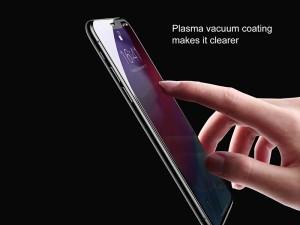 محافظ صفحه نمايش بیسوس مدل Rigid Edge Curved Tempered Glass مناسب برای گوشی موبایل آیفون Xs Max