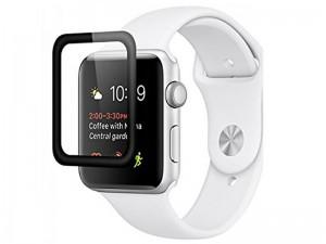محافظ صفحه نمایش تمام چسب مدل Tempered Glass مناسب برای ساعت هوشمند اپل واچ 42mm