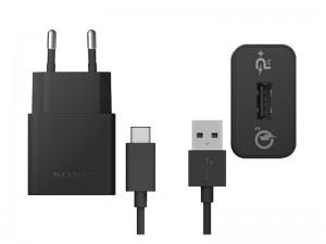 شارژر دیواری سریع سونی مدل UCH12W Quick بهمراه کابل USB-C