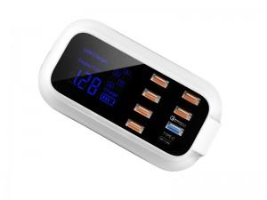 هاب شارژر 8 پورت دولایک مدل DL-CH17Q QC3.0 USB Charger With Type-C