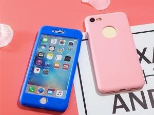 کاور 360 درجه سیلیکونی مناسب برای گوشی موبایل آیفون 6 پلاس