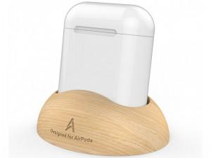 پایه نگهدارنده چوبی آها استایل مدل PT16 مناسب برای ایرپاد