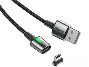 کابل مگنتی لایتنینگ بیسوس مدل Zinc Magnetic Cable