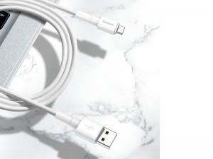 کابل شارژ و انتقال داده میکرو یو اس بی بیسوس مدل Mini White