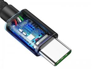 کابل Type-C سوپر شارژ بیسوس مدل Dual-mode Fast Charging Cable