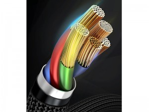 کابل تبدیل Type-C به Lightning بیسوس مدل Cafule Data Cable