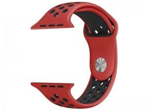 بند سیلیکونی طرح Nike مناسب برای اپل واچ 42 میلی متری