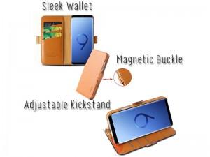 کیف چرمی G-Case مدل Honour series مناسب برای گوشی موبایل سامسونگ S10