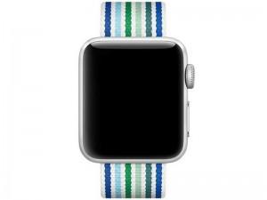 بند ساعت کوتچی مدل W30 Magic Tape WH5251-BG مناسب برای اپل واچ 42 میلیمتری