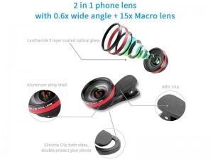 لنز کلیپسی موبایل لی کیو آی مدل LQ-033