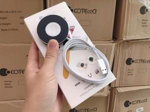 شارژر بی سیم دو کاره کوتچی مدل WS-17 Mini 2in1 مناسب برای شارژ گوشی و اپل واچ