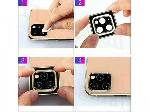 محافظ لنز دوربین کوتچی مدل CS2219-TS مناسب برای گوشی iPhone 11 Pro/11 Pro Max
