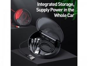 ایستگاه شارژ چند کاره بیسوس مدل Car Sharing Charging Station مناسب برای خودرو بهمراه کابل سه سر